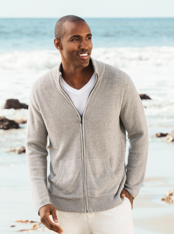 Men's Barefoot Dreams Zip up Cardi