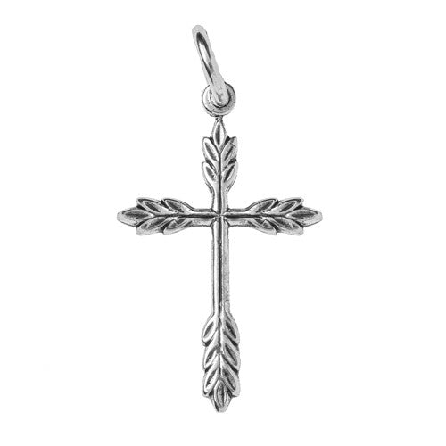 Vine Cross Charm