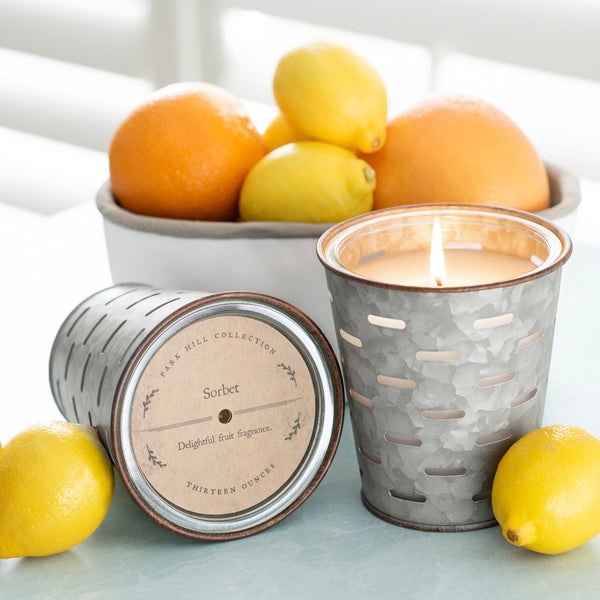 Olive Bucket Candle by Park Hill
