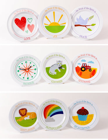 Fruit of the Spirit Plate-SET