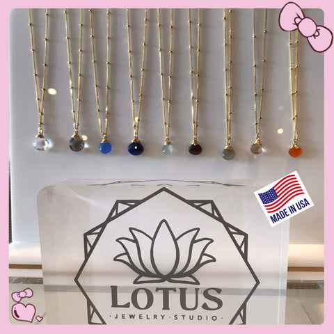 Gemstone Necklaces by Lotus