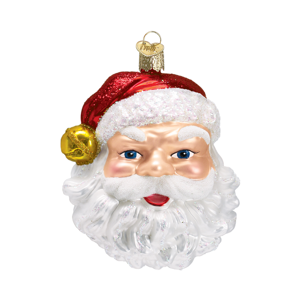 Jingle Bell Santa Ornament