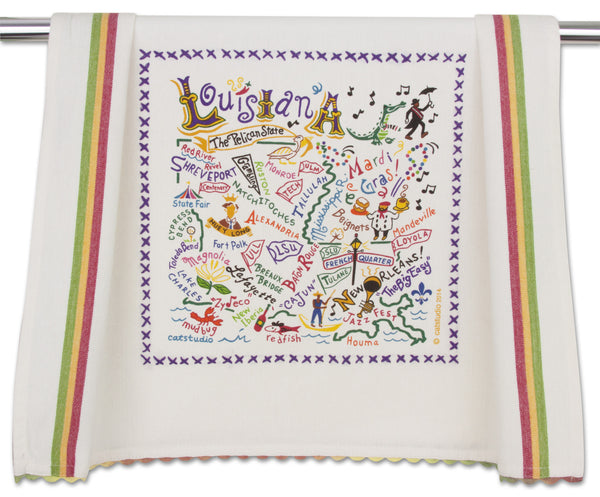 Louisiana Dish Towel