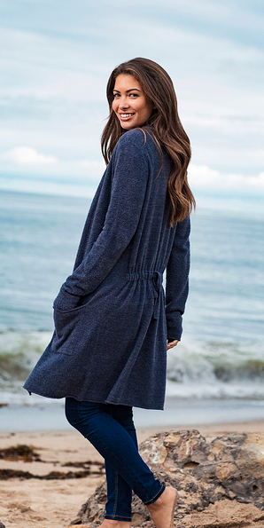 Santa Monica Cardigan by Barefoot Dreams