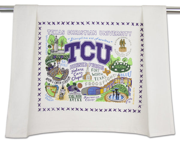 Texas Christian University  (TCU) Dish Towel