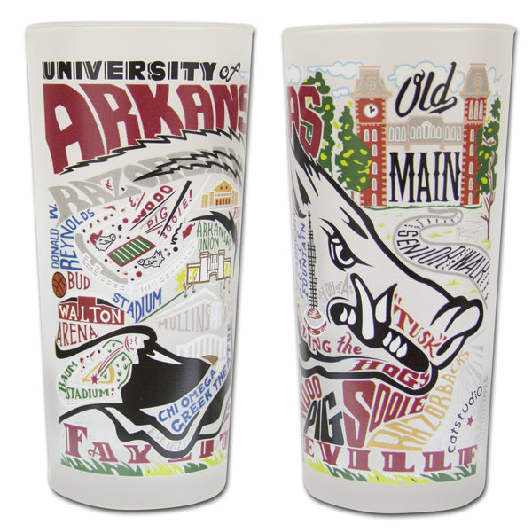 University of Arkansas Glass