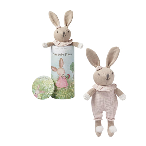 Bunny Baby Knit Toy