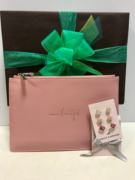 Earring & Pouch Set