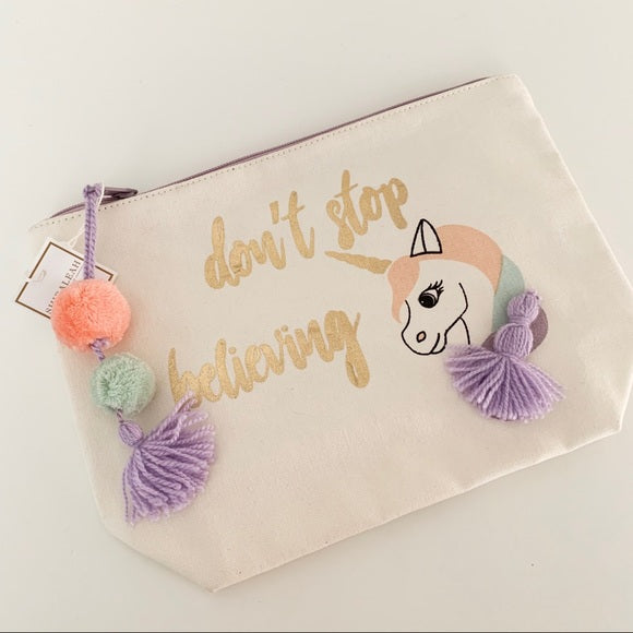 Unicorn Cosmetic Pouch