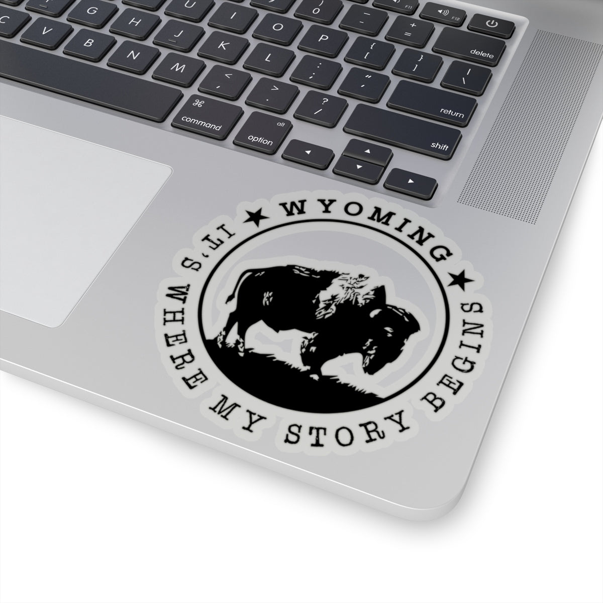 Wyoming It's  Where My Story Begins Kiss-Cut Stickers