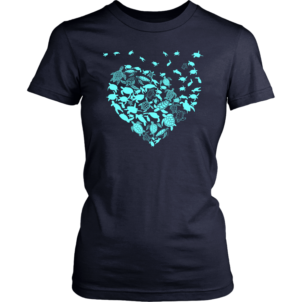 Turtle Heart T-shirt
