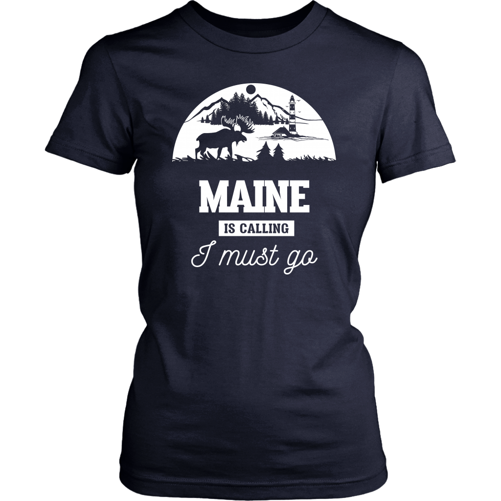 MAINE IS CALLING I MUST GO