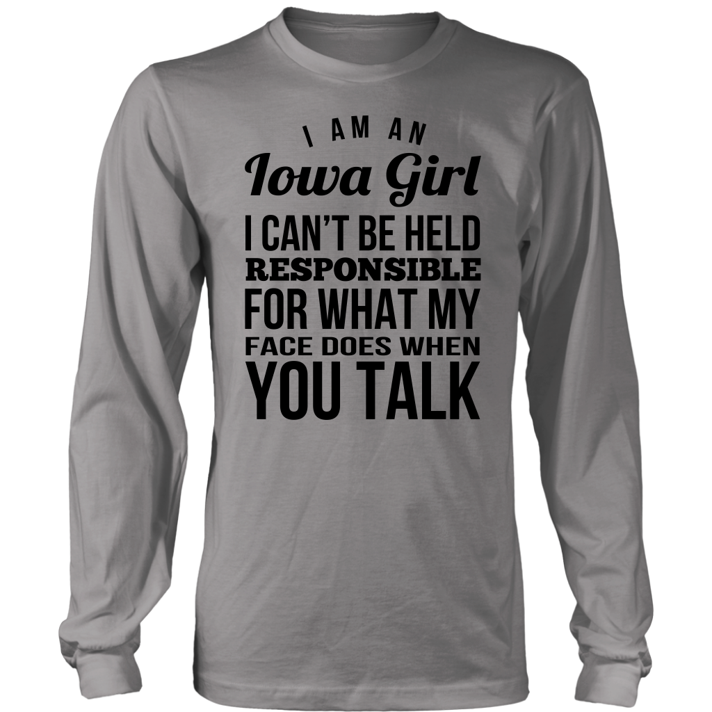 I Am An Iowa Girl T- Shirt