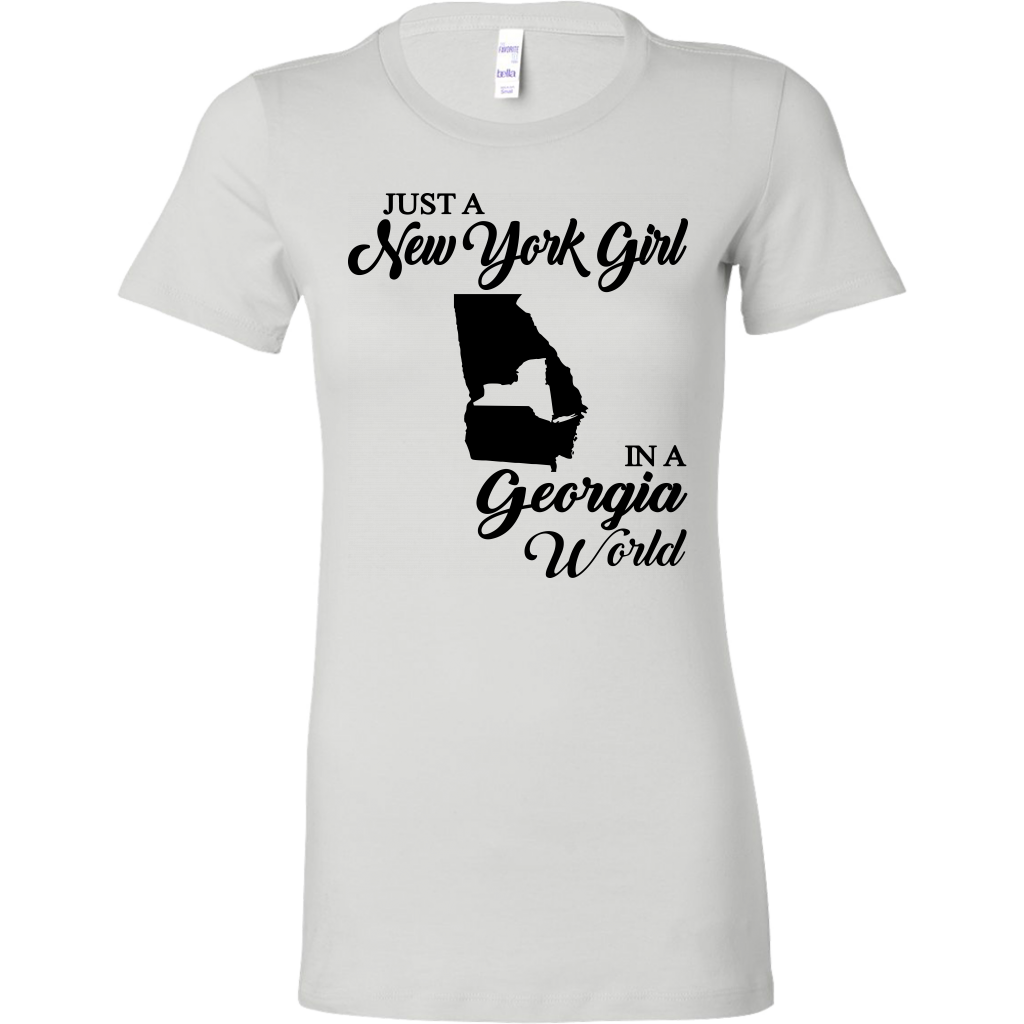 Just A New York Girl In A Georgia World T-Shirt