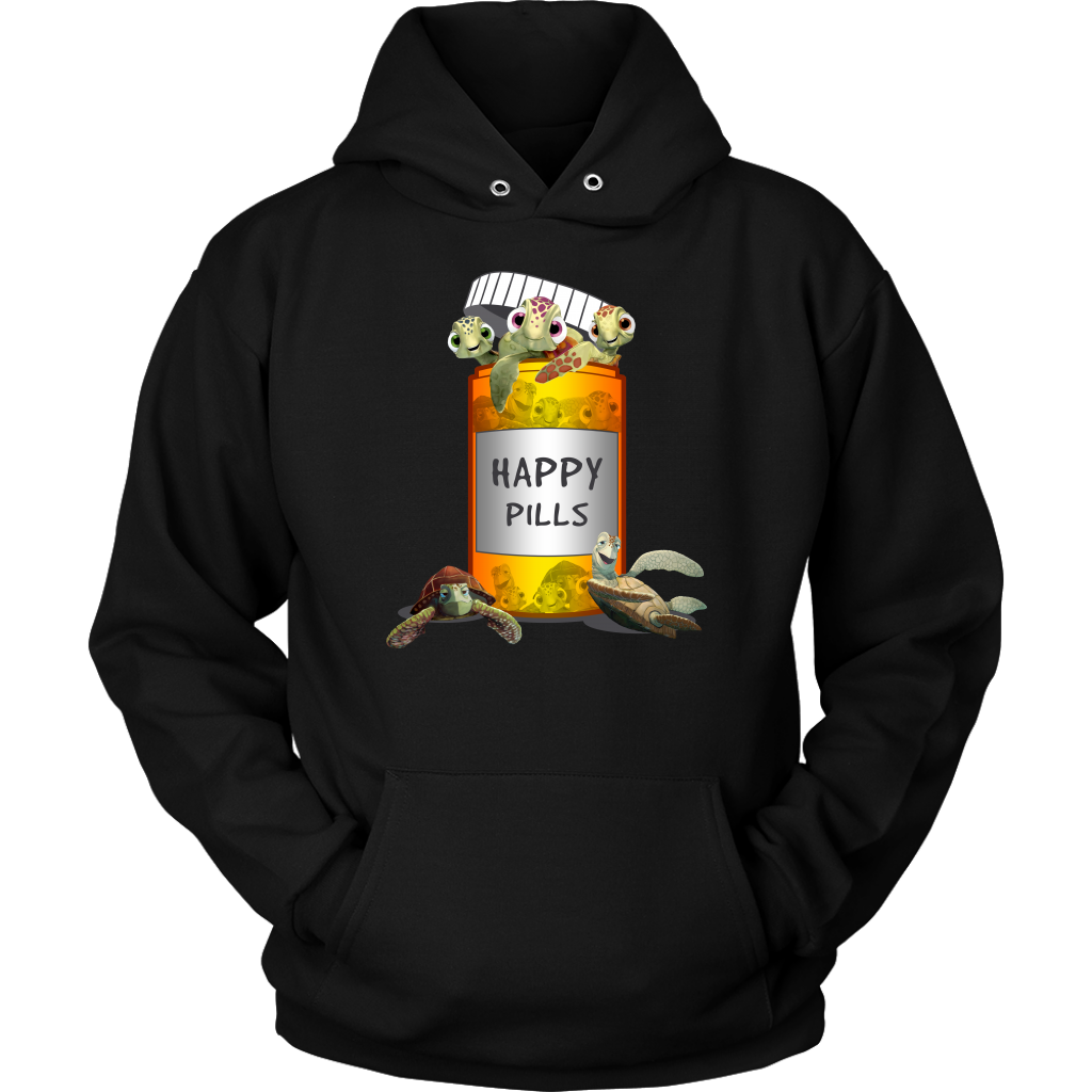 Happy Pills Turtle T-Shirt - T-shirt Teezalo LLC