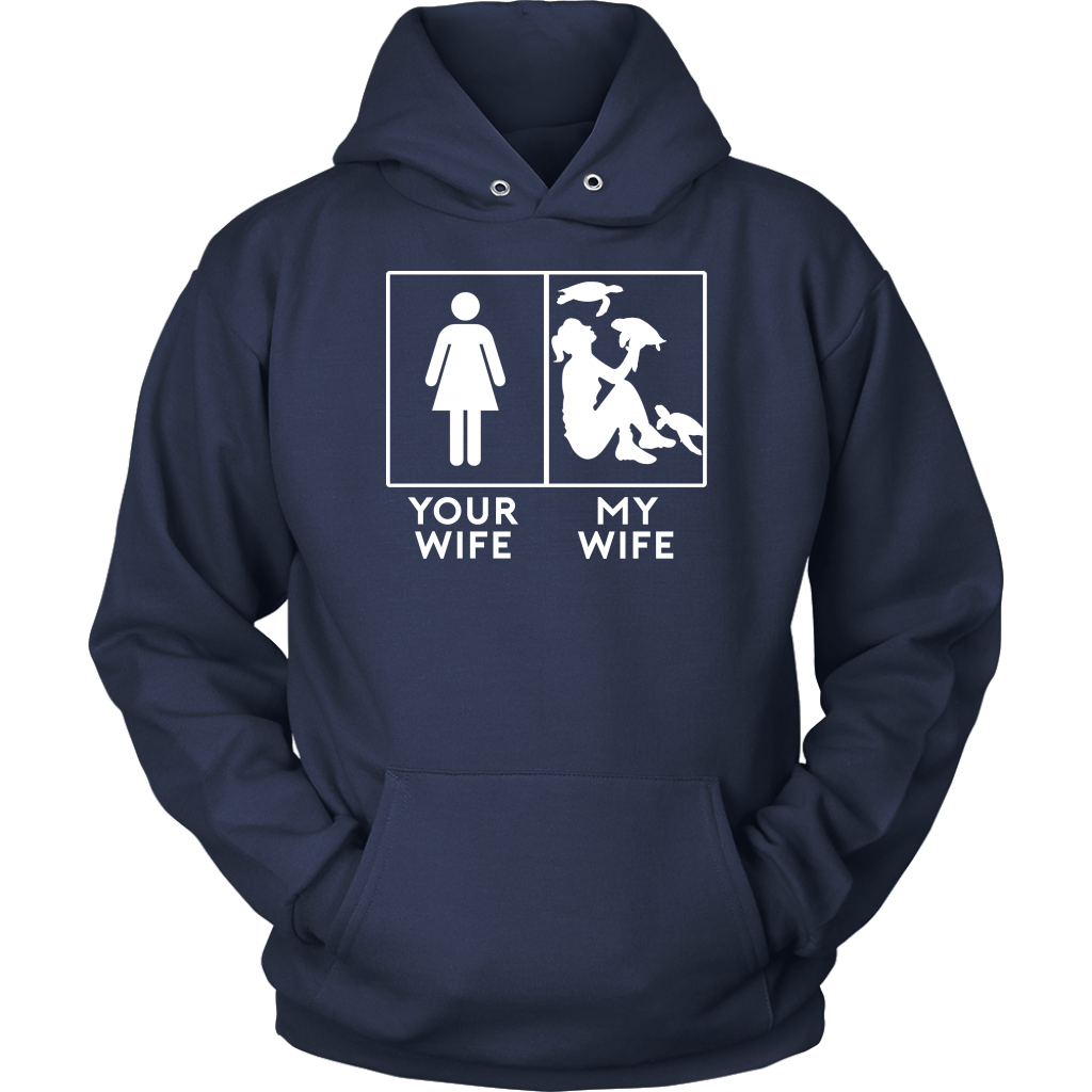 Your Wife My Wife Sea Turtle T-Shirt