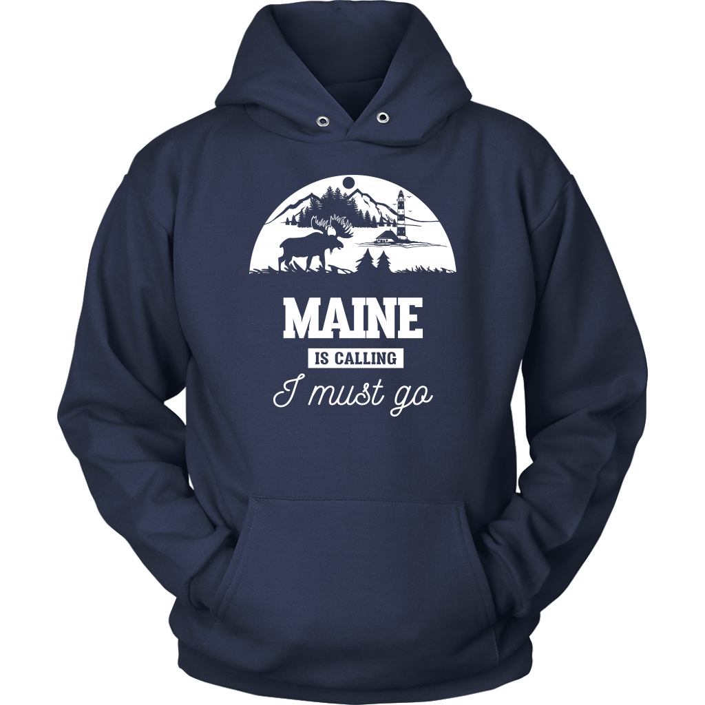 Maine Is Calling I Must Go T-Shirt