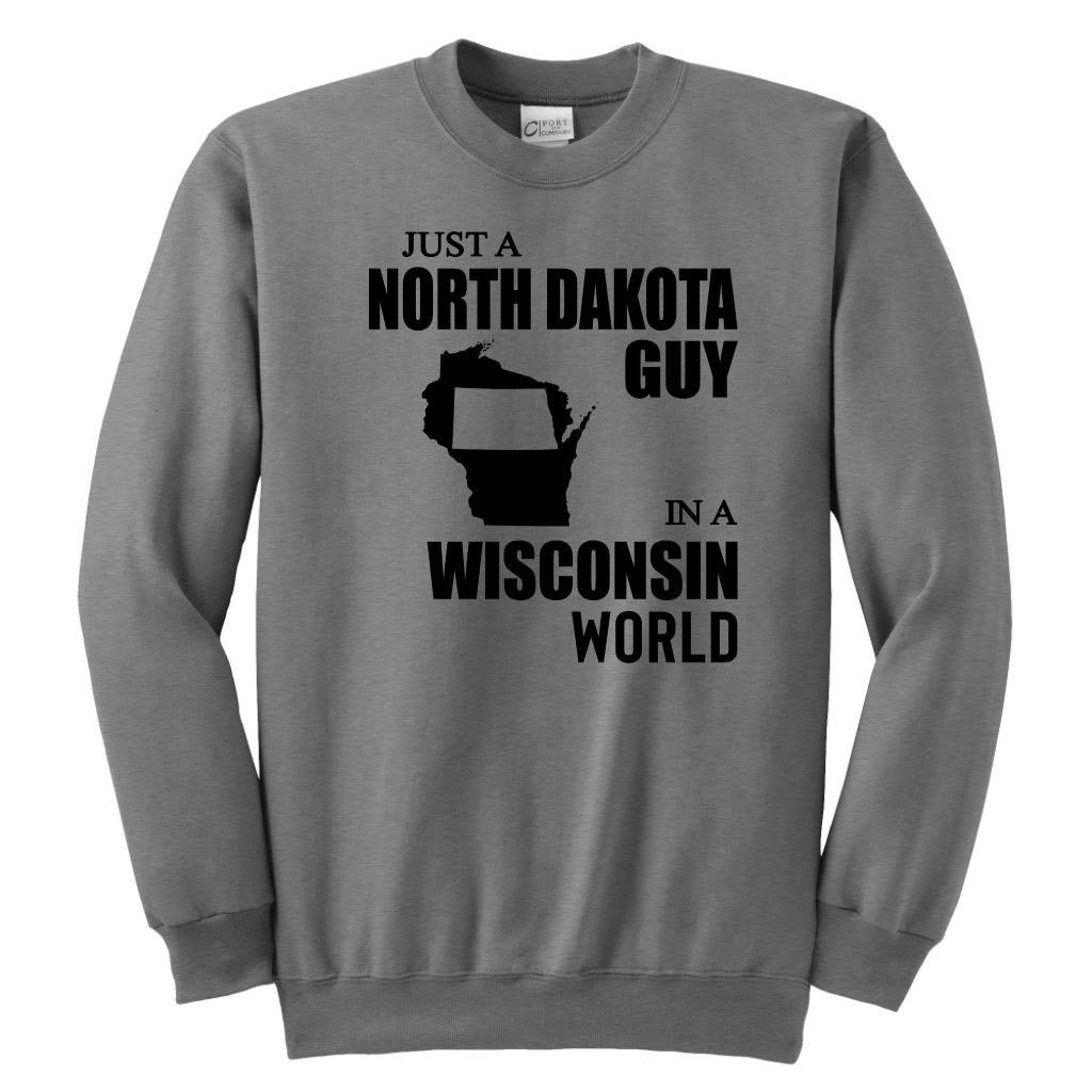 JUST A NORTH DAKOTA GUY IN A WISCONSIN WORLD