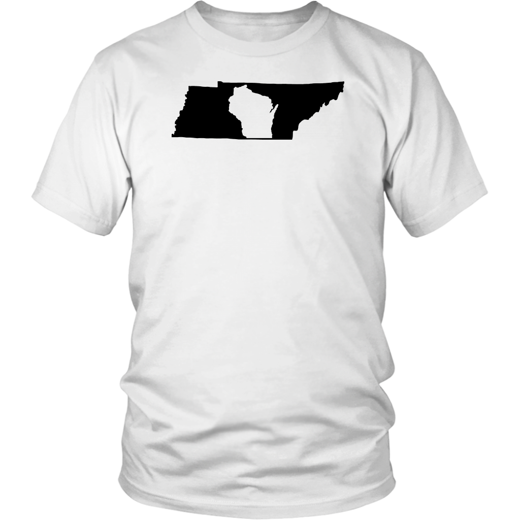 Living In Tennessee And You're From Wisconsin T-shirt