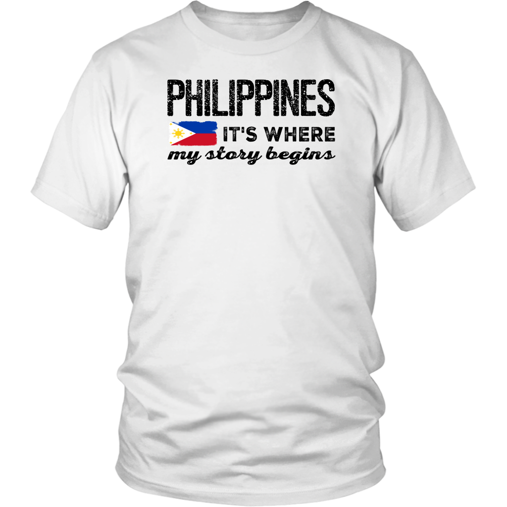 Philippines It's Where My Story Begins T-Shirt