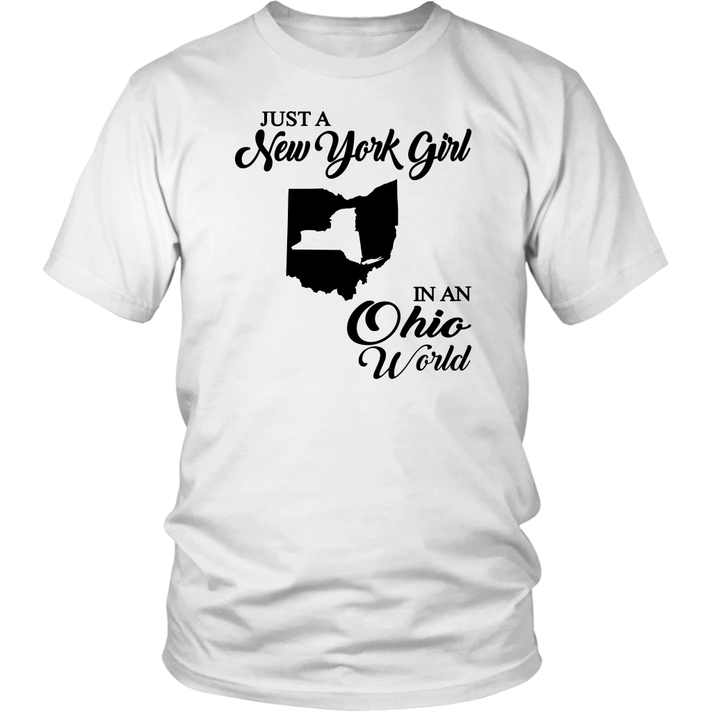 Just A New York Girl In A Ohio World T-Shirt
