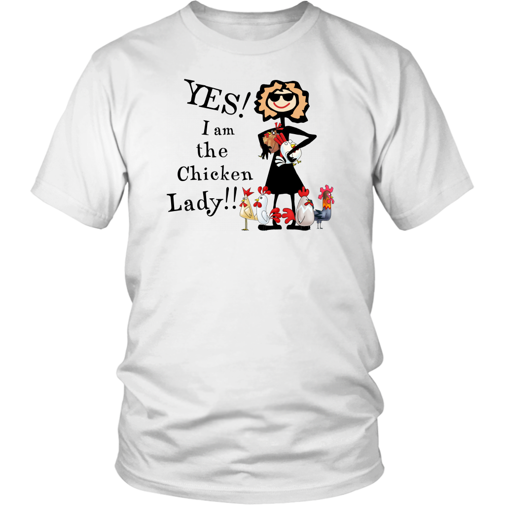 Yes I Am The Chicken Lady Sweatshirt