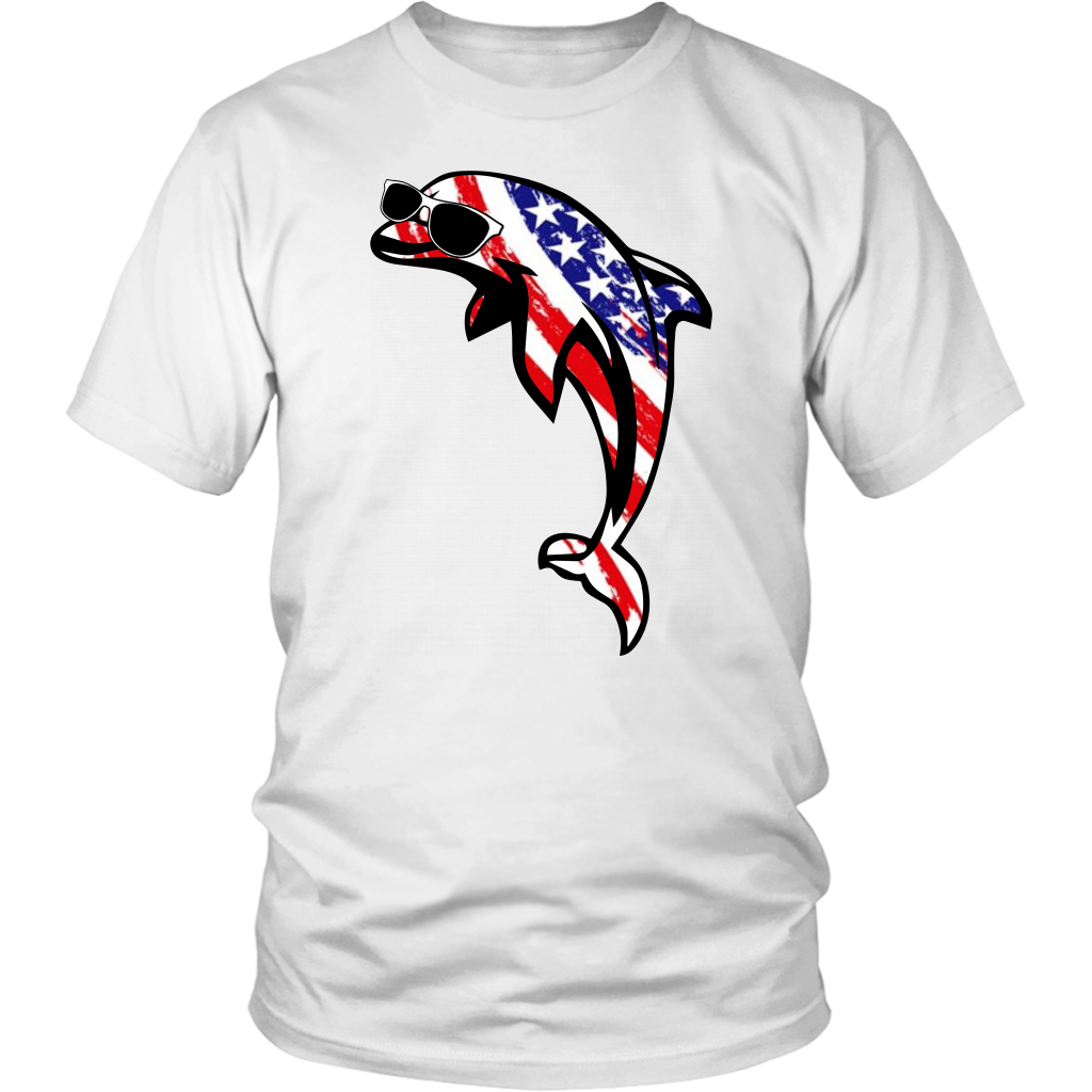 American Dolphin T-Shirt