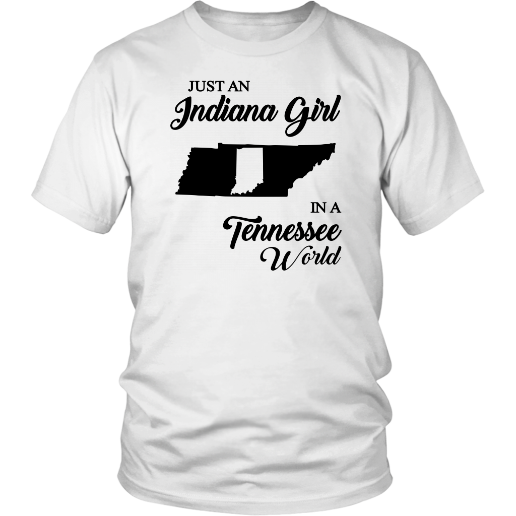 JUST AN INDIANA GIRL IN A TENNESSEE WORLD