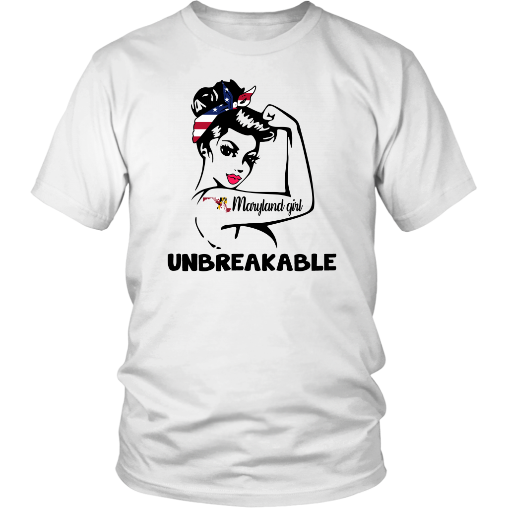 Maryland Girl Unbreakable Hoodie