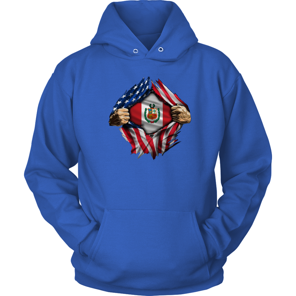 Proud to be a Peruvian American T-Shirt