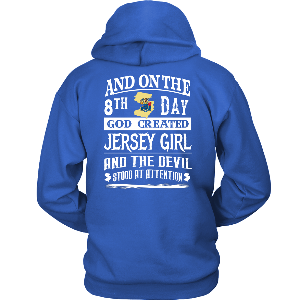 And On The 8th Day God Created Jersey Girl T-Shirt