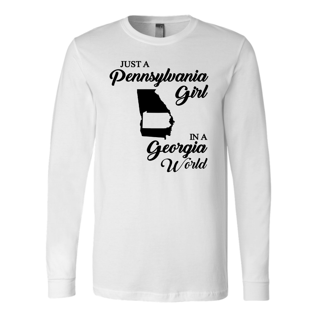 Just A Pennsylvania Girl In A Georgia World T-Shirt