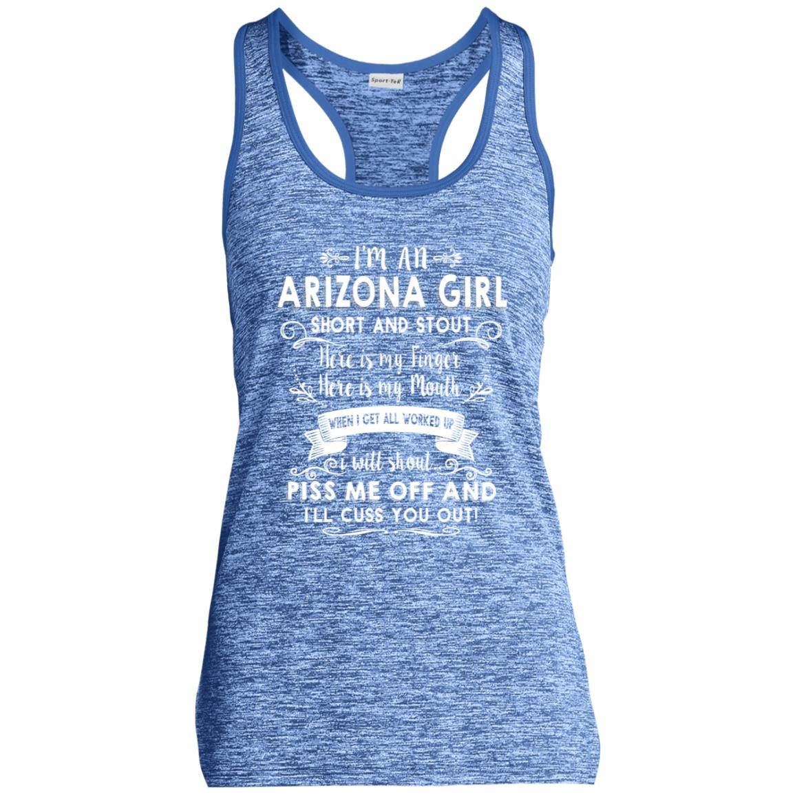 I'm An Arizona Girl Short And Stout T-Shirt
