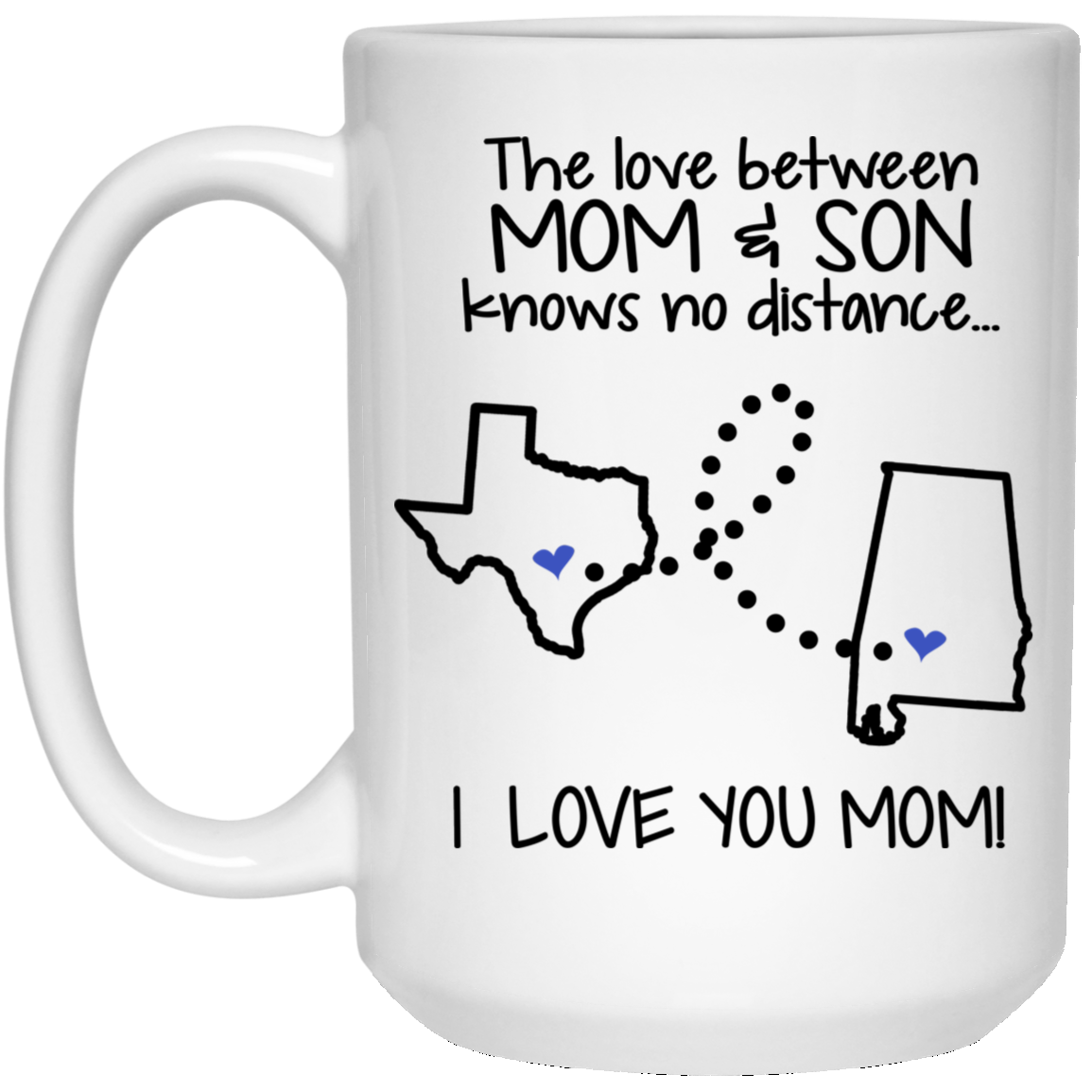ALABAMA TEXAS THE LOVE BETWEEN MOM AND SON
