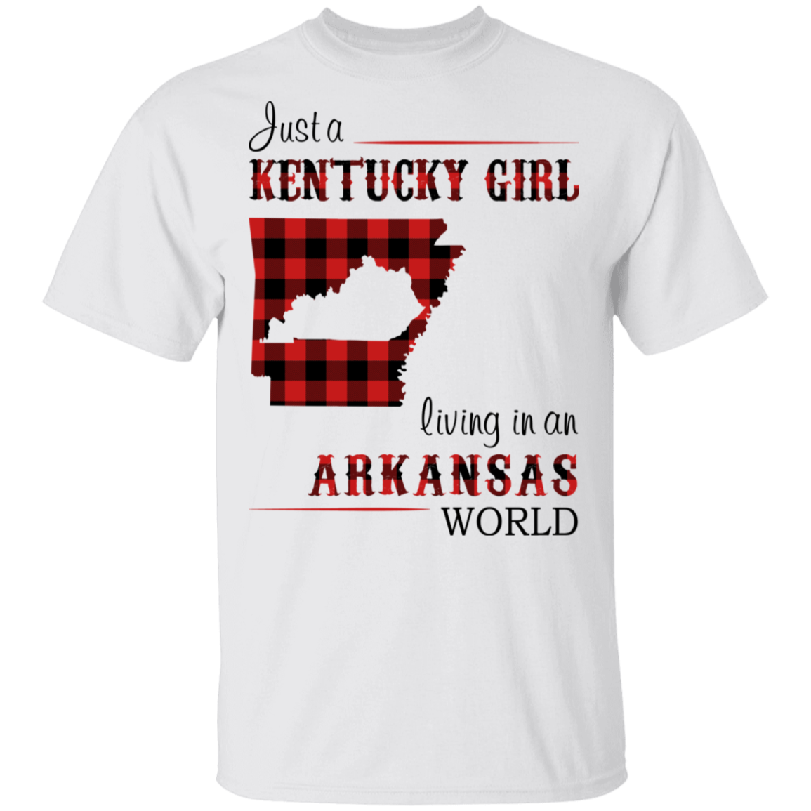 JUST A KENTUCKY GIRL LIVING IN AN ARKANSAS WORLD