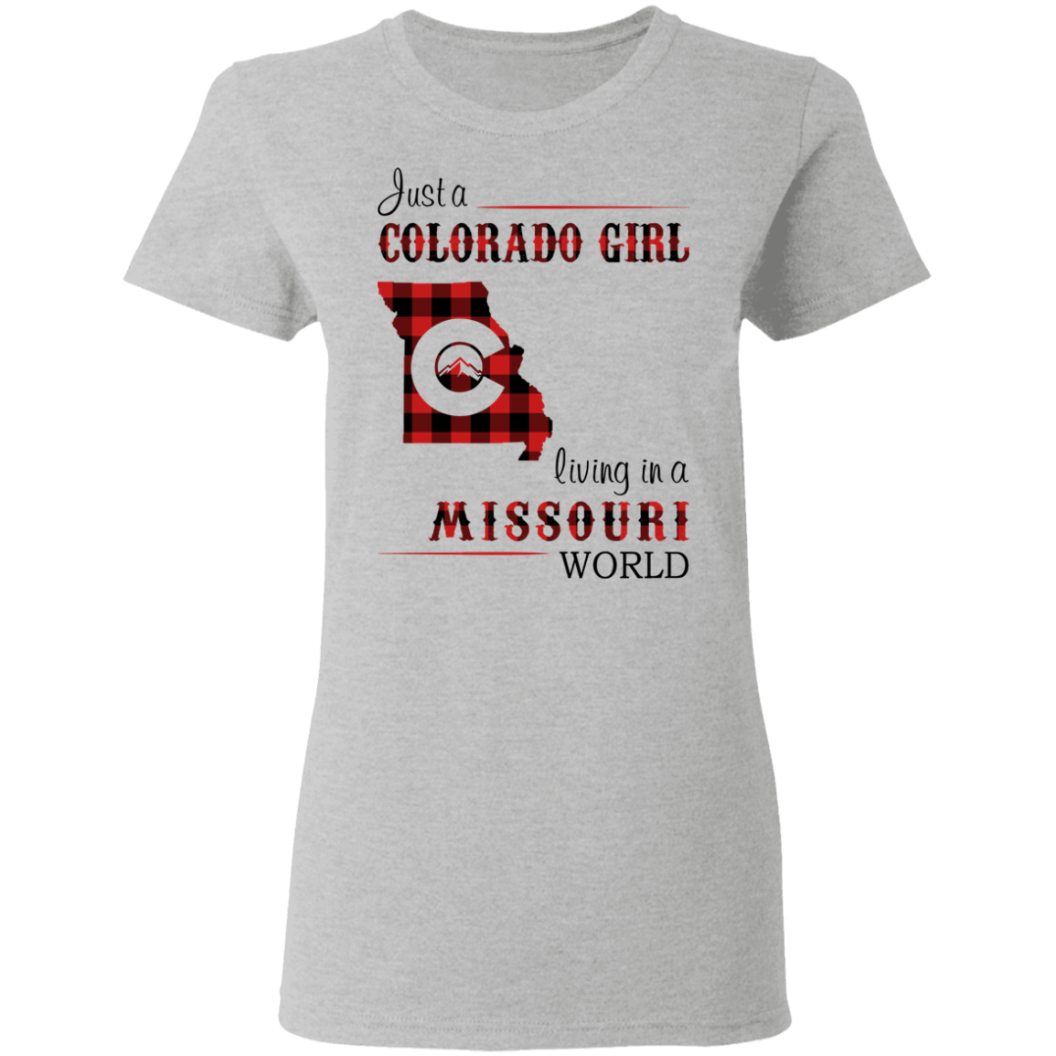 JUST A COLORADO GIRL LIVING IN A MISSOURI WORLD