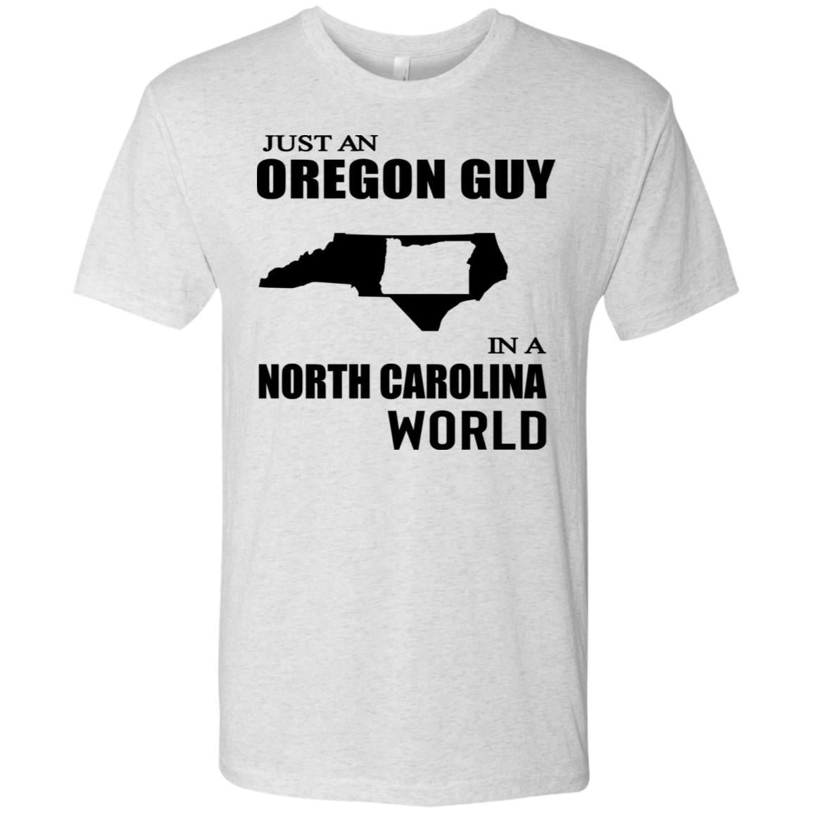 Just An Oregon Guy In North Carolina World Hoodie