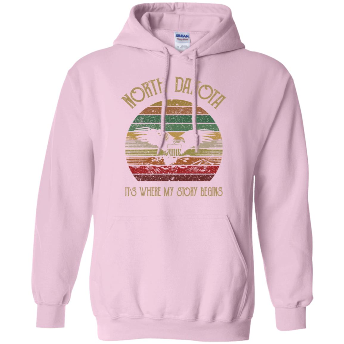 North Dakota Where My Story Begins Hoodie