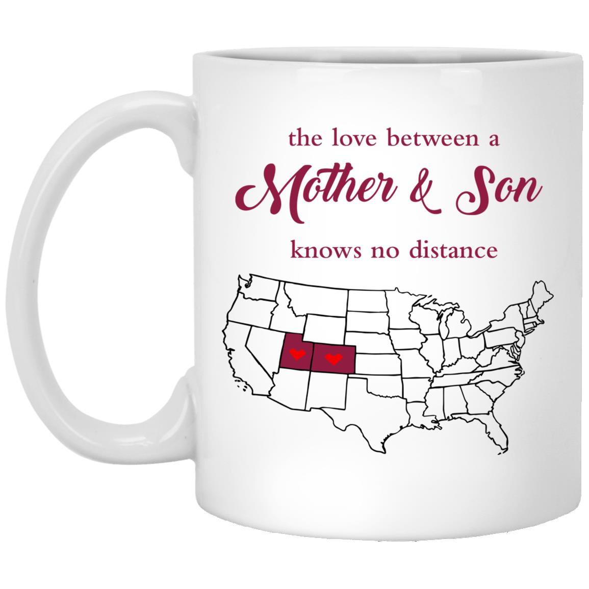 Colorado Utah The Love Between Mother And Son Mug
