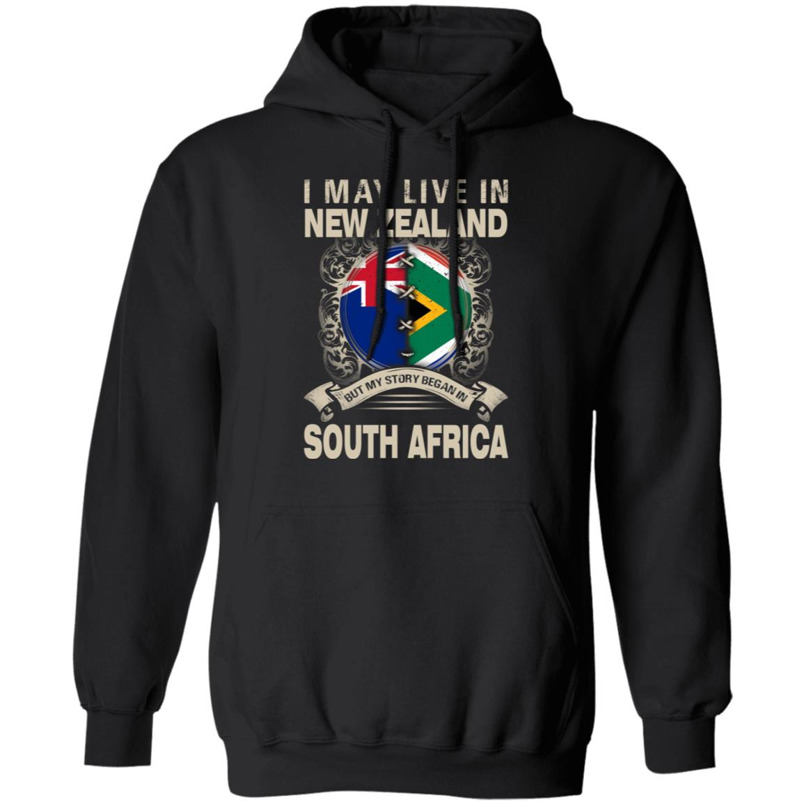 I MAY LIVE NEW ZEALAND IN BUT MY STORY BEGAN IN SOUTH AFRICA