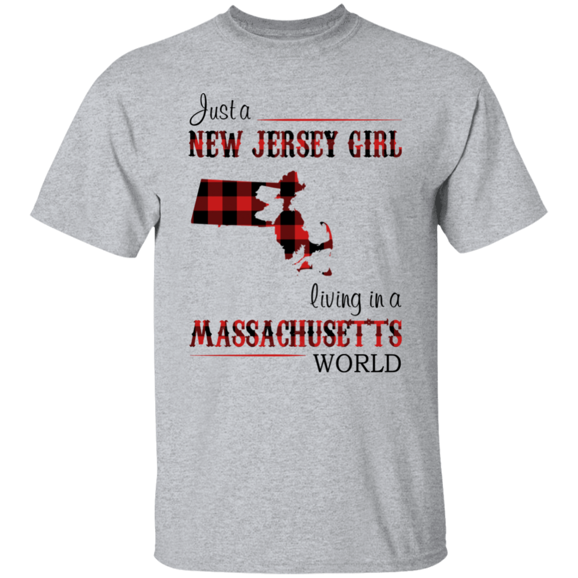 JUST A NEW JERSEY GIRL LIVING IN A MASSACHUSETTS WORLD
