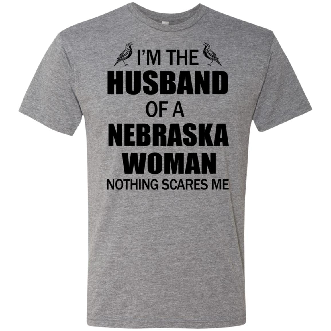 I'm The Husband Of A Nebraska Woman T-shirt