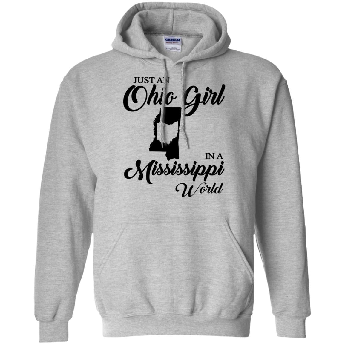 Just An Ohio Girl In A Mississippi World T-Shirt