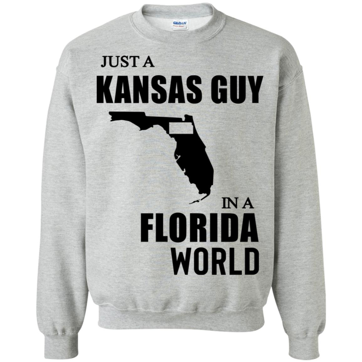 Just A Kansas Guy In A Florida World Hoodie