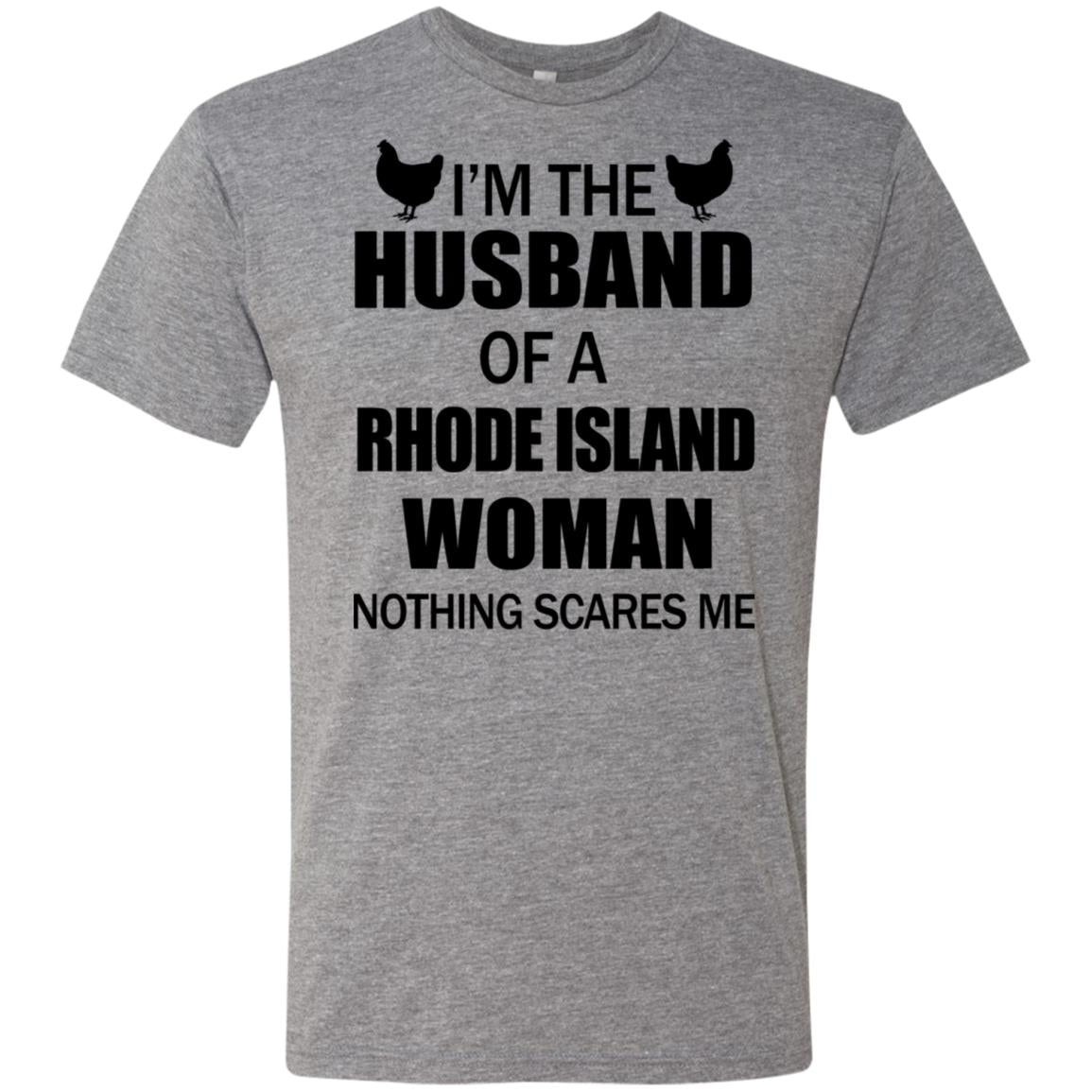 I'm The Husband Of A Rhode Island Woman T-shirt