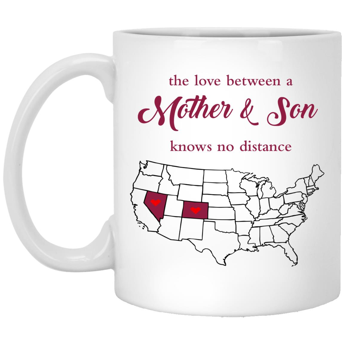 Colorado Nevada The Love Between Mother And Son Mug