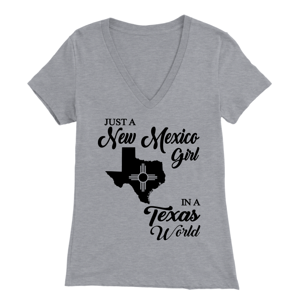 Just A New Mexico Girl In A Texas World T-Shirt