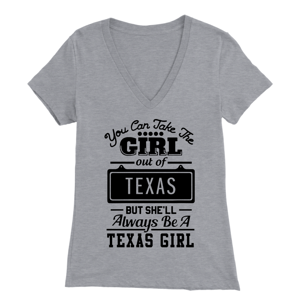 She'll Always Be A Texas Girl T- Shirt