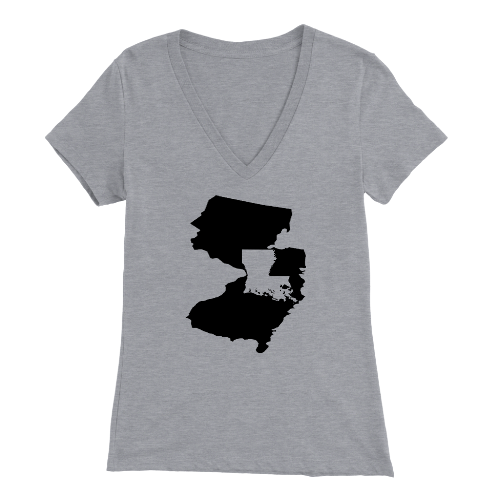 Living In Jersey And You're From Louisiana T-shirt