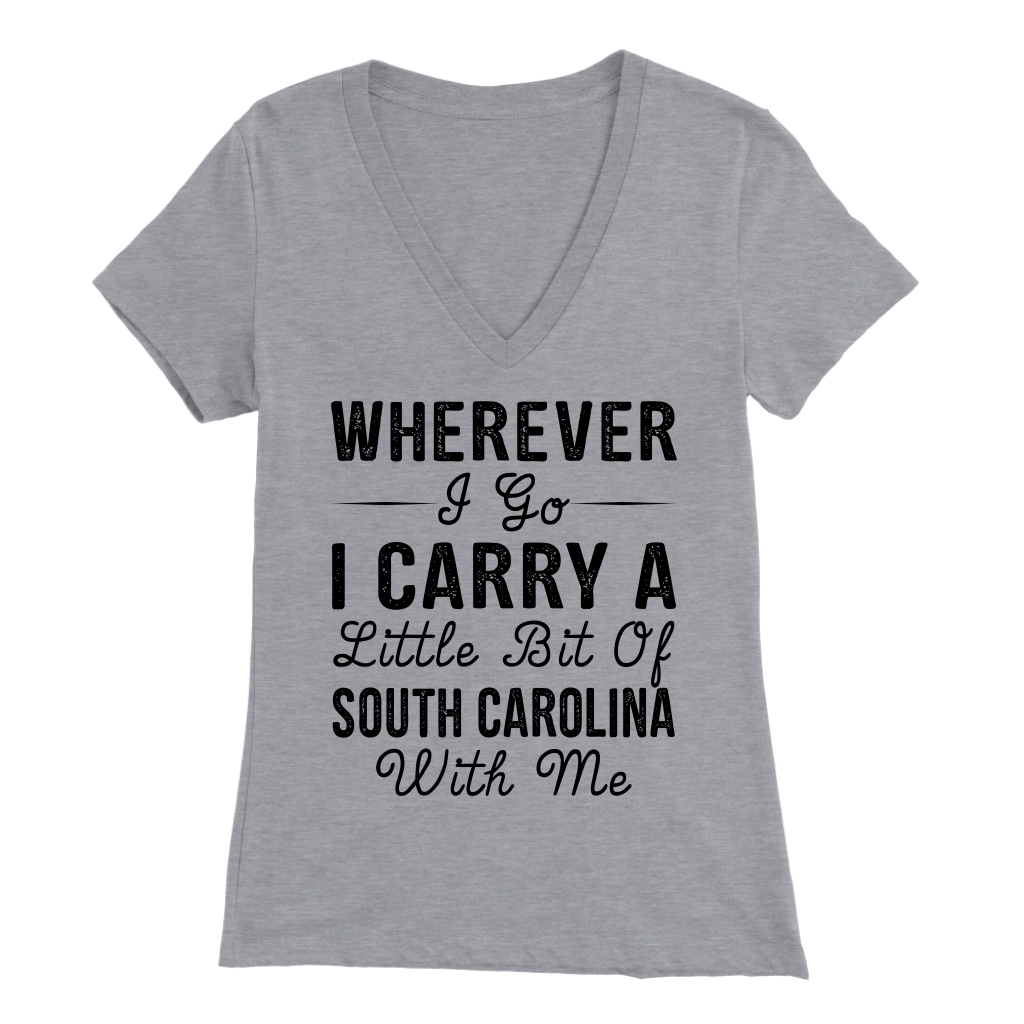I CARRY A LITTLE BIT OF SOUTH CAROLINA WITH ME
